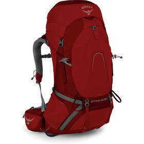 Osprey Atmos AG 50 Backpack Herr rigby red